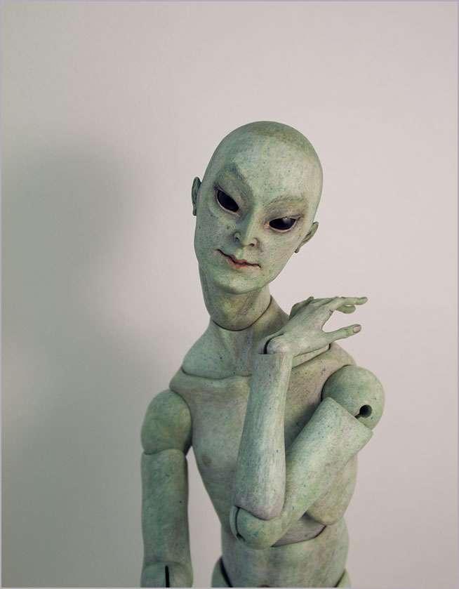 Кукла из папье-маше шарнирная своими руками 95