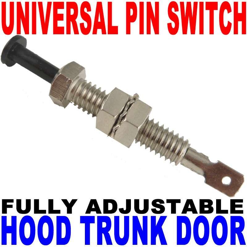 Car Alarm Security Adjustable Pin Swich For Hood Trunk Ebay